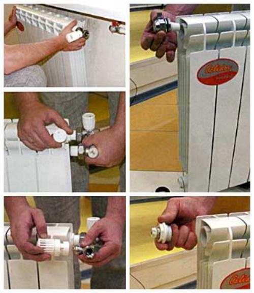 Крепление радиатора своими руками